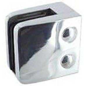 Pince à verre INOX 316 Poli Miroir - Modèle 06 - 55 x 55 mm
