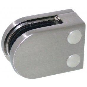 Pince à verre ZAMAC Aspect inox brossé - Modèle 02 - 405 x 63 mm