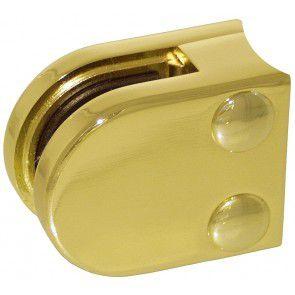Pince à verre Zamac Aspect laiton poli - Modèle 00 - 40 x 50 mm