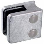 Pince à verre Zamac Brut - Modèle 01 - 45 x 45 mm