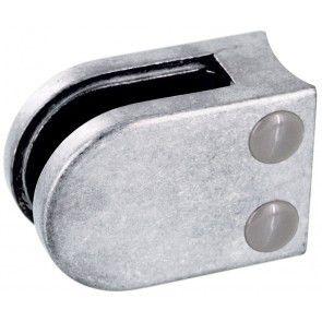 Pince à verre Zamac brut - Modèle 02 - 45 x 63 mm