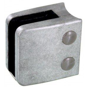 Pince à verre Zamac Brut - Modèle 06 - 55 x 55 mm