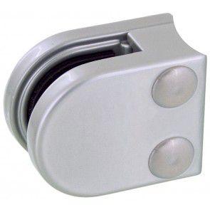 Pince à verre Zamac Gris alu - Modèle 00 - 40 x 50 mm