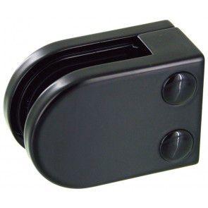 Pince à verre Zamac Noir 9005 - Modèle 02 - 45 x 63 mm