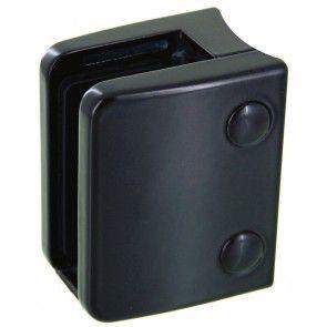 Pince à verre Zamac Noir 9005 - Modèle 04 - 70 x 55 mm