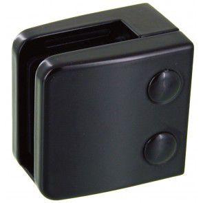 Pince à verre Zamac Noir 9005 - Modèle 06 - 55 x 55 mm