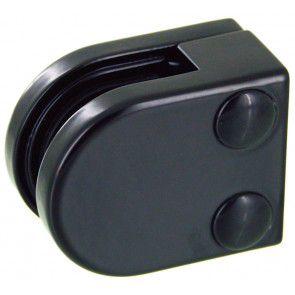 Pince à verre ZAMAC Noir RAL 9005 - Modèle 00 - 40 x 50 mm