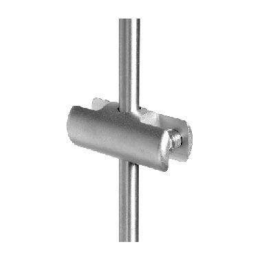 Pince verticale double sur tige Ø6 mm
