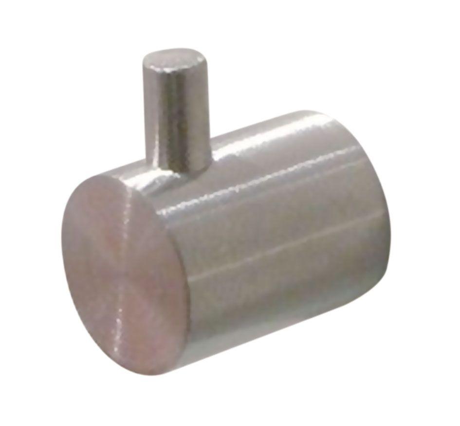 Poignée bouton bec fixe inox
