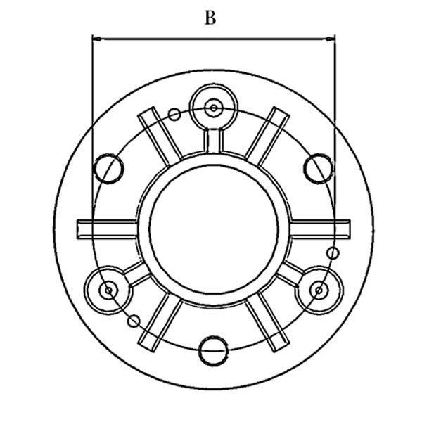 Poteau de balustrade modèle 13