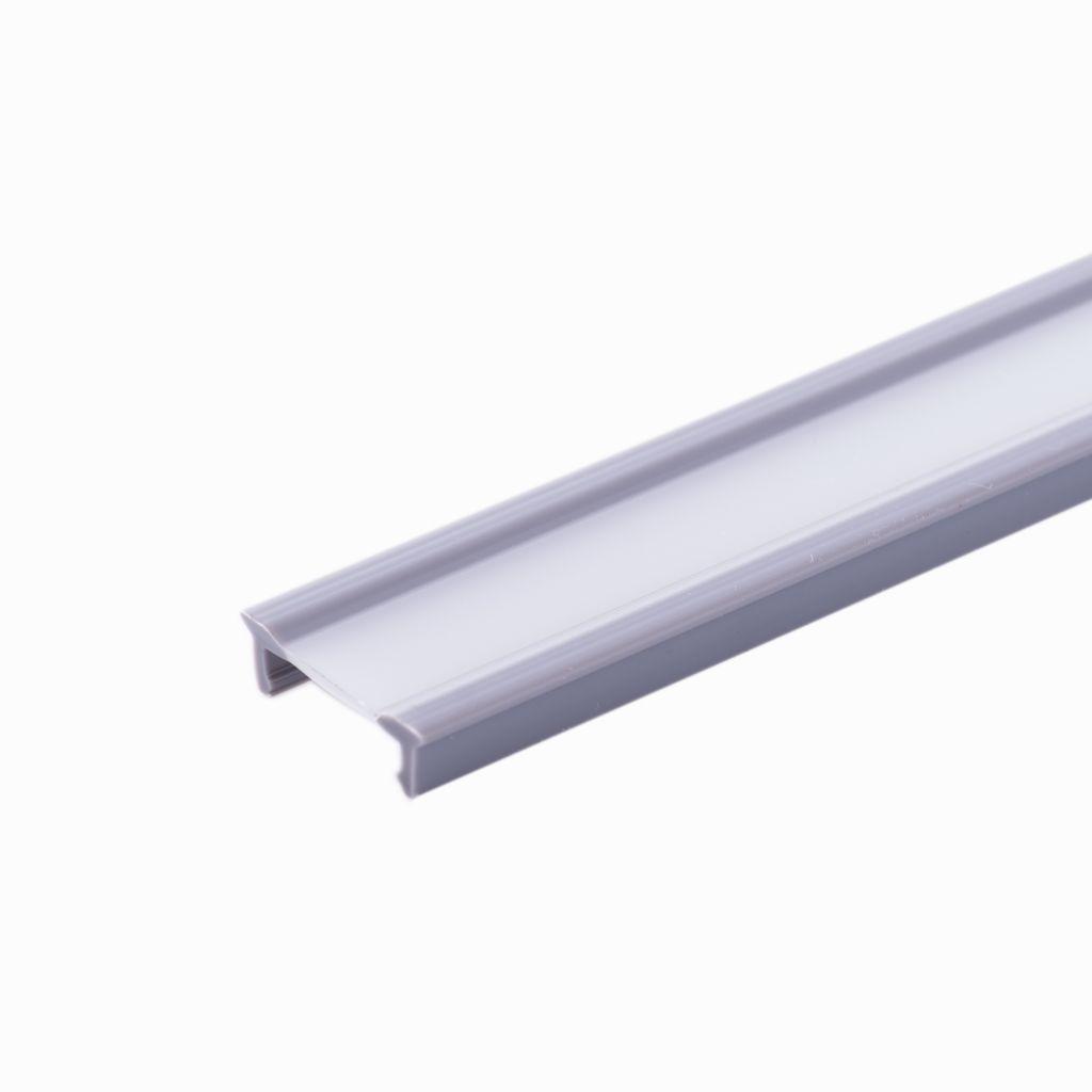PROFIL DE RECOUVREMENT Lg 1500 mm POUR MAIN COURANTE LED Ø48.3 mm