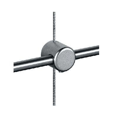Raccord traversant câble Ø1,5 / tige Ø6 mm
