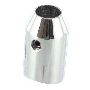 Support axial pour tube poli miroir