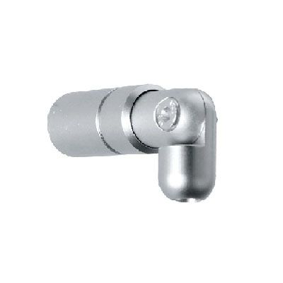 Support de fixation plafond pivot tige Ø6 mm à visser