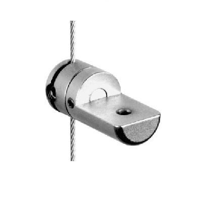 Support simple orientable sur câble Ø1,5 mm