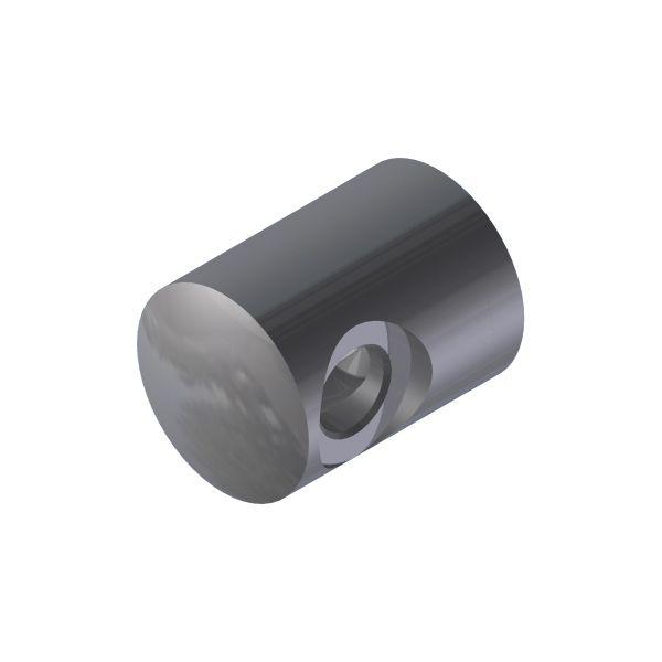 SUPPORT TRANSVERSAL DROITE/ PROFIL PLAT - CABLE Ø4 mm - INOX 316