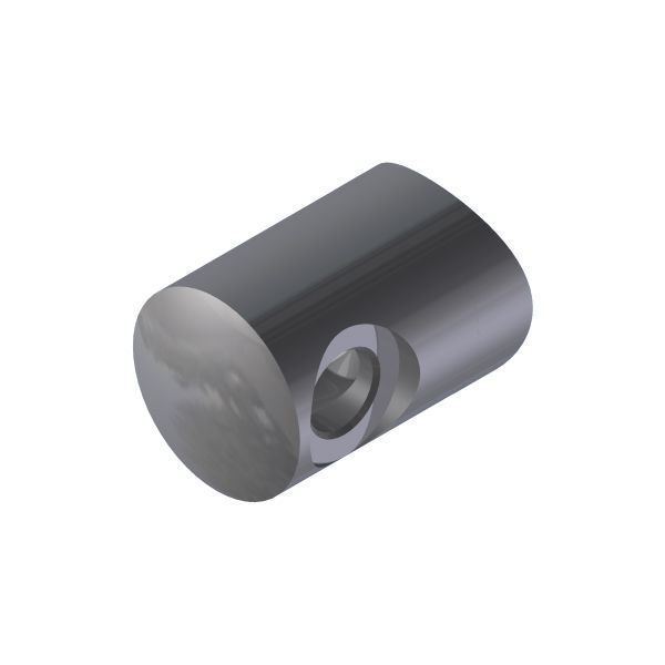 SUPPORT TRANSVERSAL DROITE/ TUBE Ø42,4 mm  - CABLE Ø4 mm - INOX 316