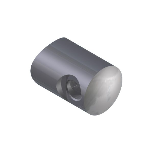 SUPPORT TRANSVERSAL GAUCHE/ TUBE Ø42,4 mm  - CABLE Ø4 mm - INOX 316