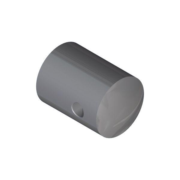 SUPPORT TRANSVERSAL SUR PROFIL PLAT POUR CABLE Ø4 mm - INOX 316