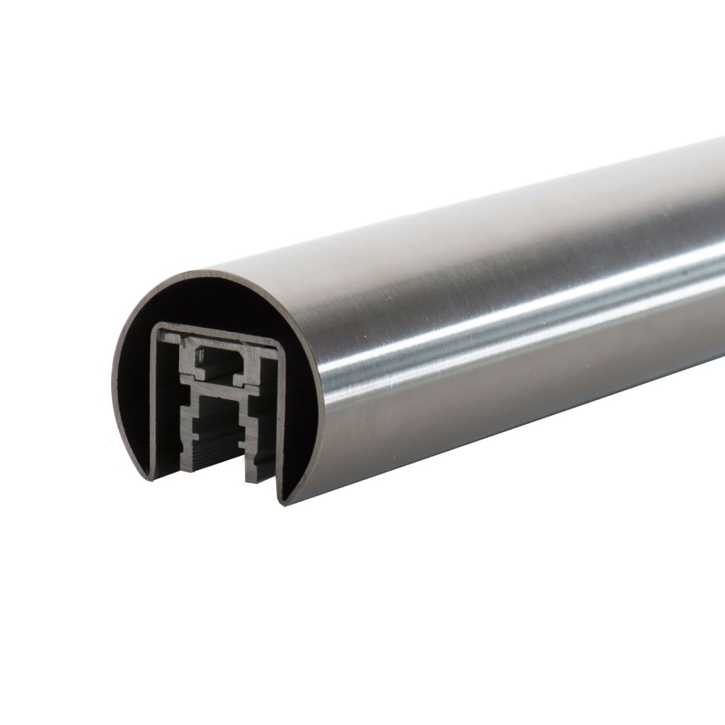 TUBE A FOND DE GORGE LED Ø42,4 mm - A LA COUPE - INOX 316