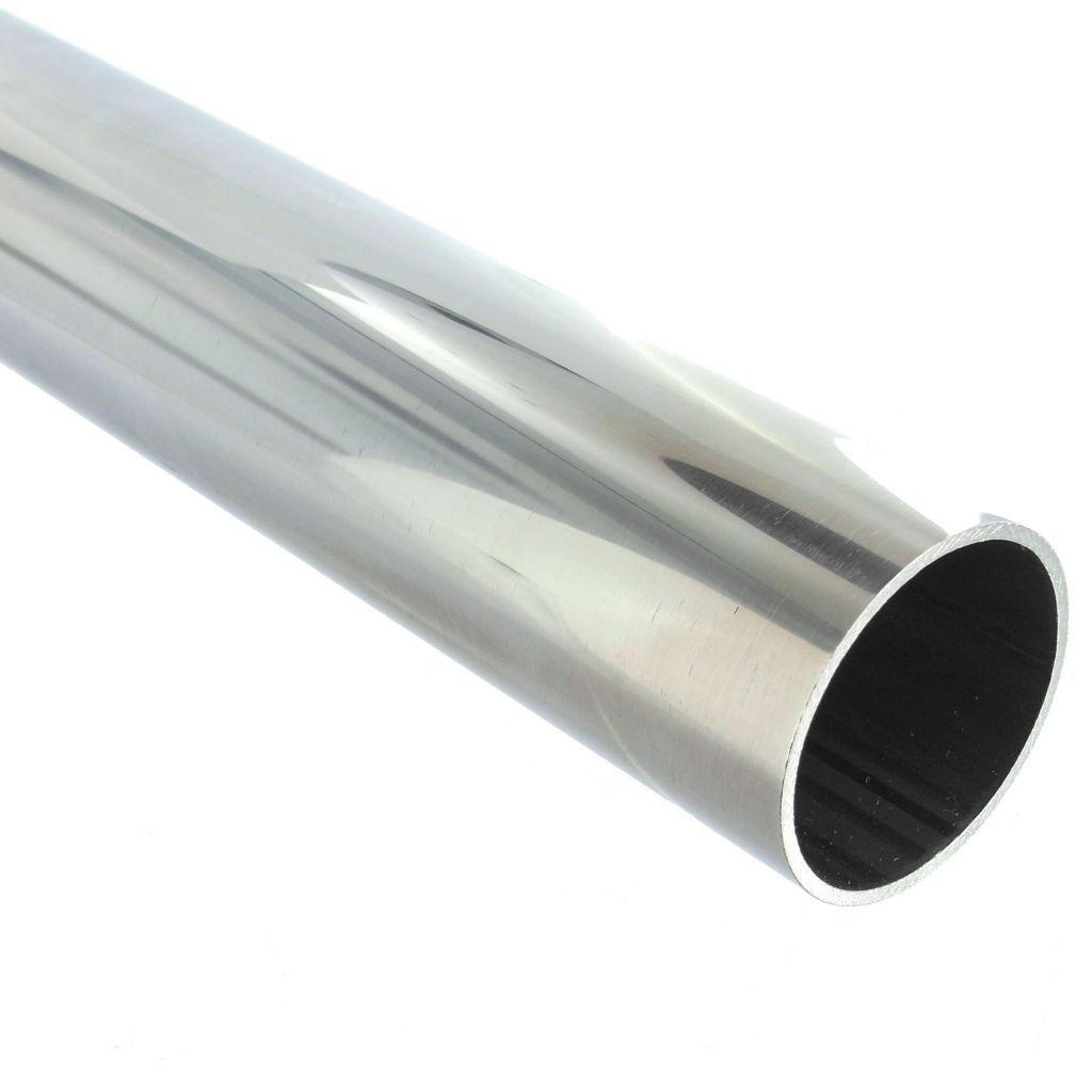 TUBE Ø25.4 x 1.27 mm - INOX 304 POLI BRILLANT à la coupe