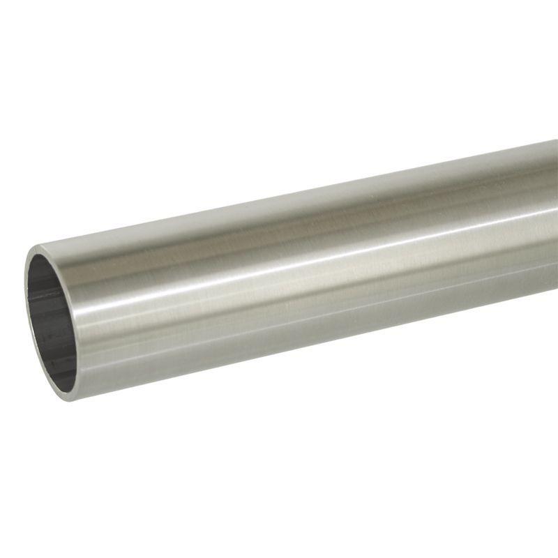 TUBE Ø50.8 mm x 1.27 mm  - INOX 304 BROSSE à la coupe